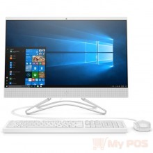 Моноблок HP AIO 24-f0162ur/ Core i5-9400T/ 8GB/ 128GB SSD + 1TB/ noODD/ GeForce GT MX110 2GB/ WiFi/ BT/ DOS/ Snow White (8TY28EA#ACB)